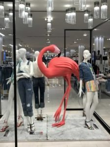 Macy's Clothing Display