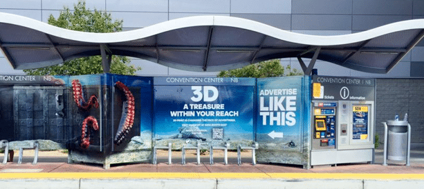 Bus Shelter 3D Printed