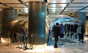 World's First 3D Printed Store Created For Louis Vuitton