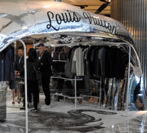 3D Printed Store Created For Louis Vuitton