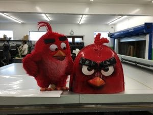3D Printing Machines Angry Birds