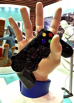 3D Printed Giant Play Station Control PoP