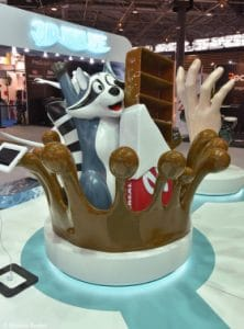 Chocolate Stand 3D Printed
