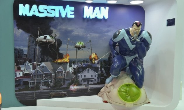 Massive Man 3D Printed