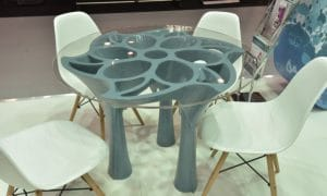 Round Table 3D Printed