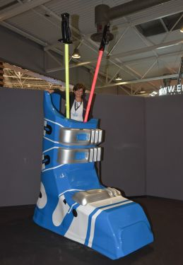 Ski Boot Selfies Point 3D Printed
