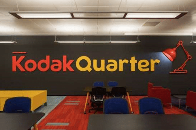Kodak Quarter - Office decoration