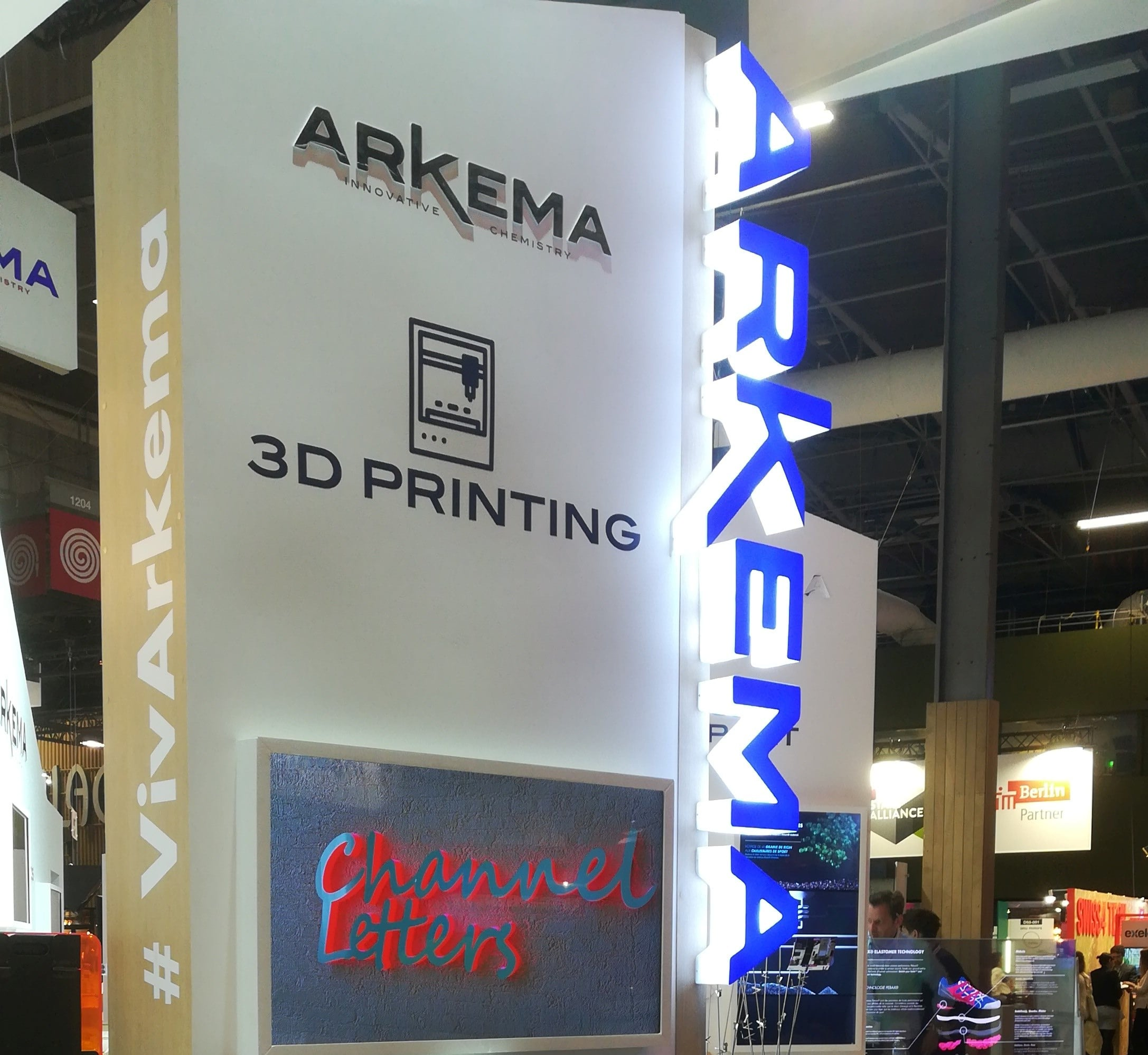 Arkema Channel Letters
