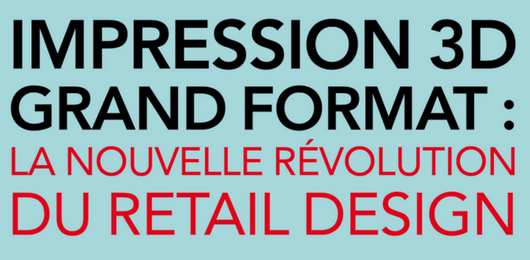 [French] Impression 3D Grand Format : révolution du retail design ?