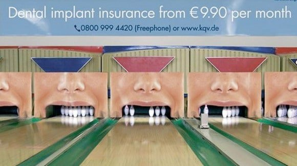Dental insurance guerilla marketing examples