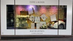 Estee Lauder Window Display 3D Printed