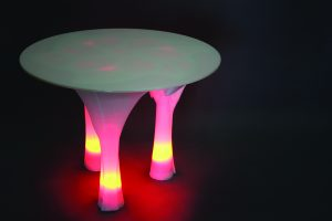 Illuminated Table 3D Printed (1)