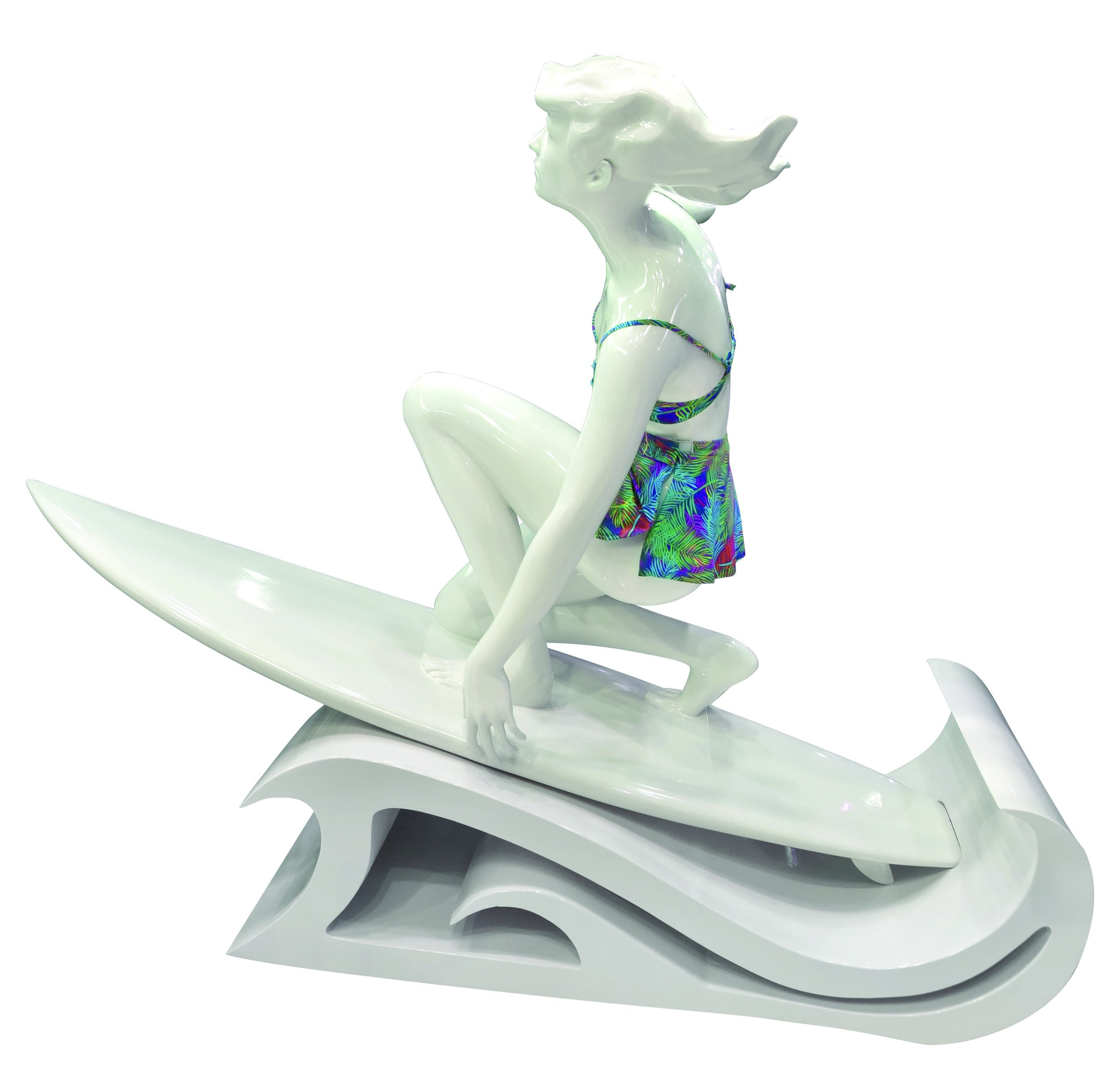 Surfing-Girl-3D-Printed-1