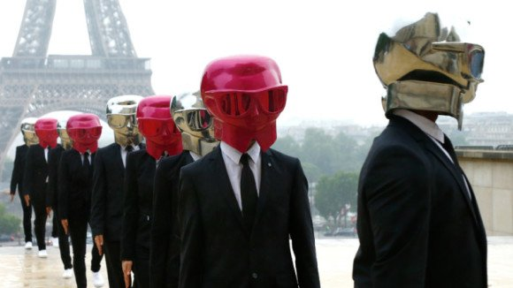 Karl Lagerfeld Beauty Butlers in Paris flash mob
