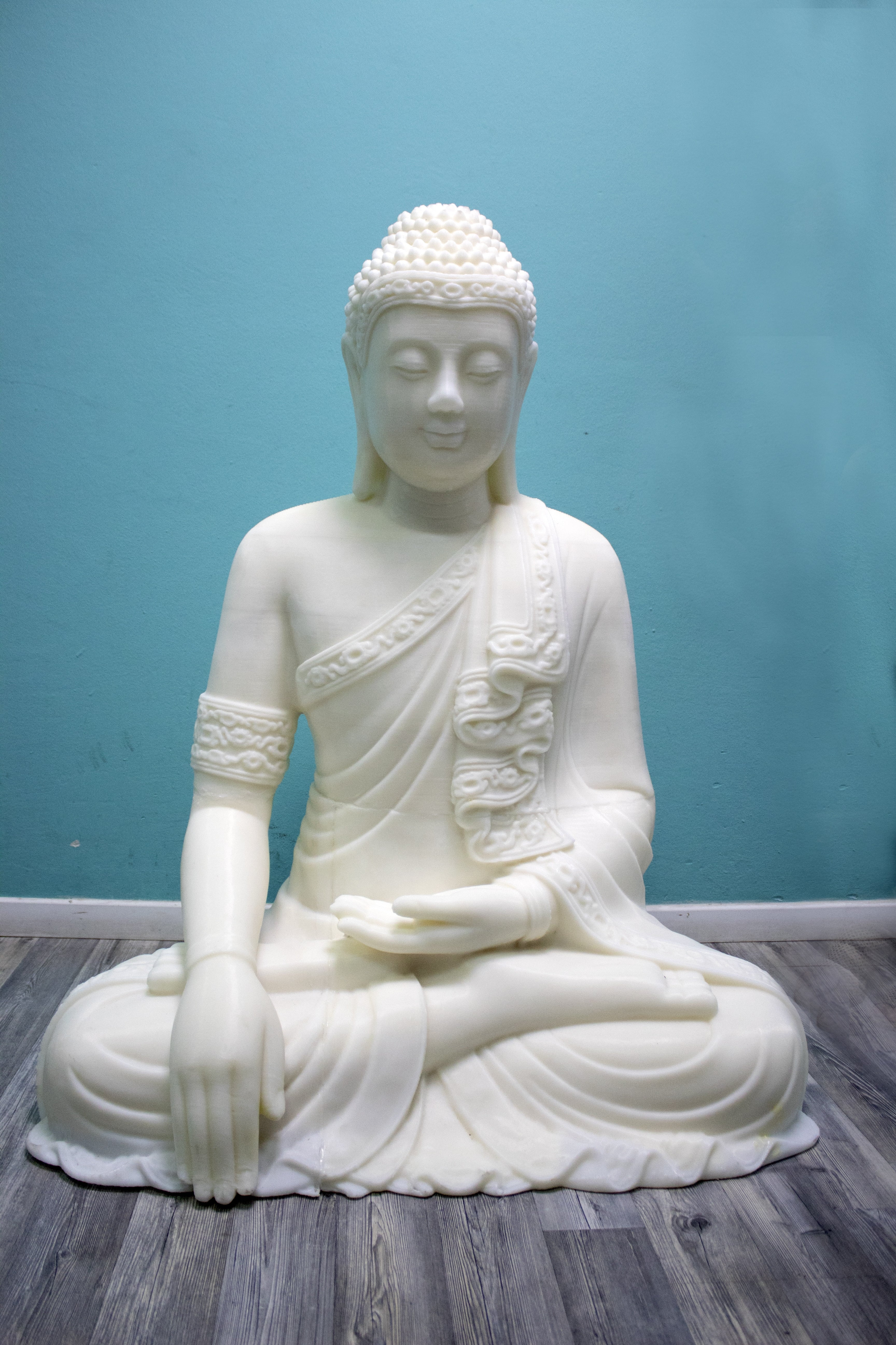 Buddha-Front-3d-printed