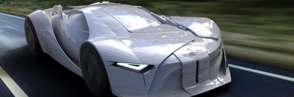 The First-Ever 3D-Printed Concept Car To Honor David Bowie's Legacy