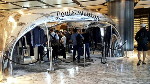 louis vuitton pop up stores