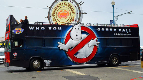 3d Printed Ghostbusters bus