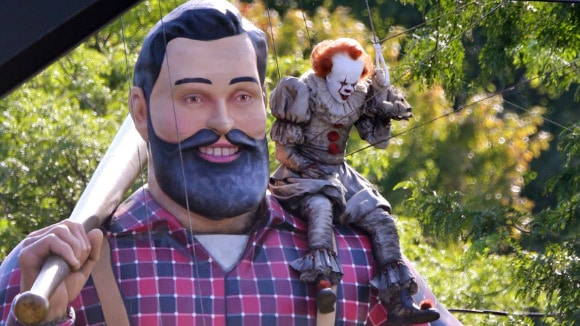 3D printed Paul Bunyan for IT: Chapter Two