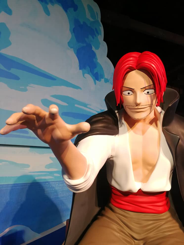 3D printed Red Head Jack at One Piece 20th anniversary