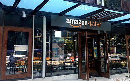 In Store Retail Experience at Amazon 4 Star