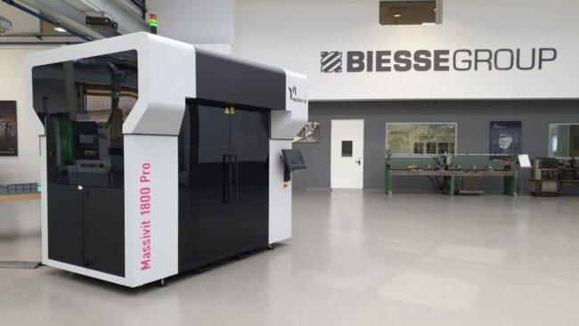 Massivit 1800 Pro at Biesse Group Facilities