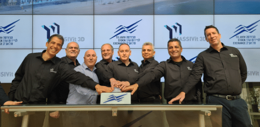 Massivit 3D Printing Technologies Completes Initial Public Offering on Tel-Aviv Stock Exchange and Raises 169 Million NIS